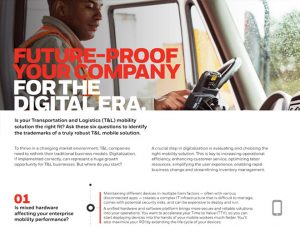 Transportation And Logistic Mobility Solution by Honeywell